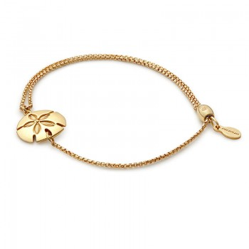 Alex And Ani Sand Dollar Pull Chain Bracelet Bracelets