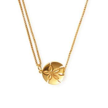 Alex And Ani Sand Dollar Pull Chain Necklace Necklaces