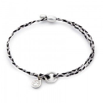Alex And Ani Silver Crescent Precious Threads Bracelet Bracelets