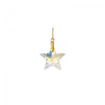 Alex And Ani Silver Wish Crystal Star Necklace Charm Necklaces