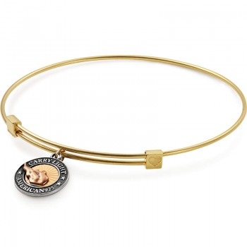 Alex And Ani Small Bangle | LIBERTY COPPER CARRY LIGHT Bracelets