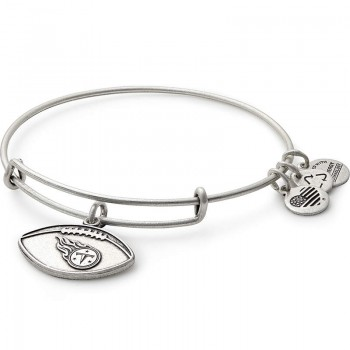 Alex And Ani Tennessee Titans Football Charm Bangle Bracelets