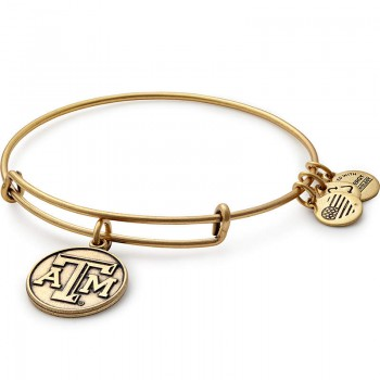 Alex And Ani Texas A&M University Logo Charm Bracelet Bracelets