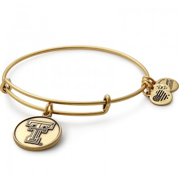 Alex And Ani Texas Tech University Logo Charm Bangle Bracelets
