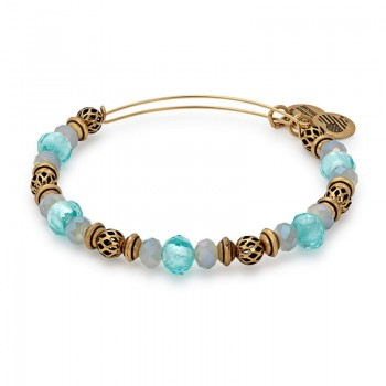 Alex And Ani Tide Moon Beaded Bangle Bracelets