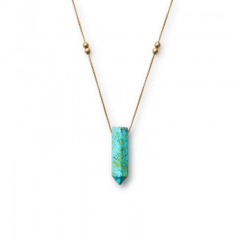 Alex And Ani Turquoise Pendant Necklace Necklaces