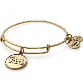 Alex And Ani University of Pittsburgh Logo Charm Bangle Bracelets