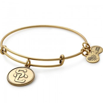 Alex And Ani University of Southern California Logo Charm Bangle Bracelets