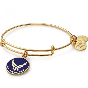 Alex And Ani US Air Force Charm Bracelet Bracelets