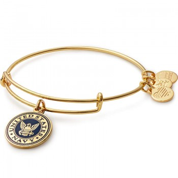 Alex And Ani US Navy Charm Bracelet Bracelets
