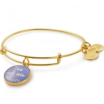 Alex And Ani You Are Here Charm Bangle Bracelets