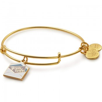 Alex And Ani Yours Truly Color Infusion Charm Bangle Bracelets