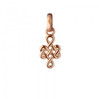 Links Of London 18kt Rose Gold Infinity Knot Charm