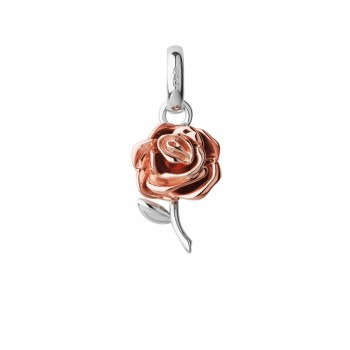 Links Of London 18kt Rose Gold Vermeil Mothers Day Rose Charm