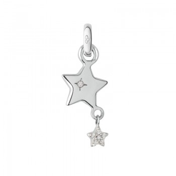 Links Of London 18kt White Gold Wish Upon a Star Charm