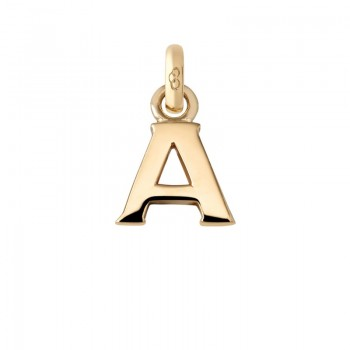 Links Of London 18kt Yellow Gold A Charm