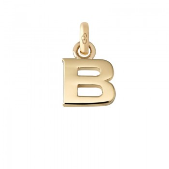 Links Of London 18kt Yellow Gold B Charm