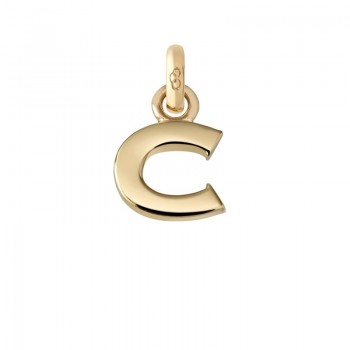 Links Of London 18kt Yellow Gold C Charm