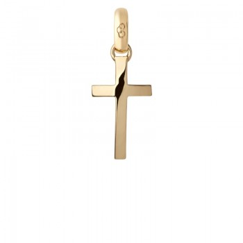 Links Of London 18kt Yellow Gold Cross Charm