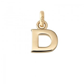 Links Of London 18kt Yellow Gold D Charm