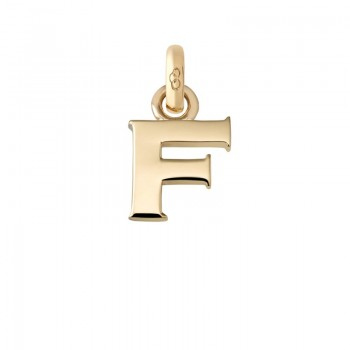 Links Of London 18kt Yellow Gold F Charm