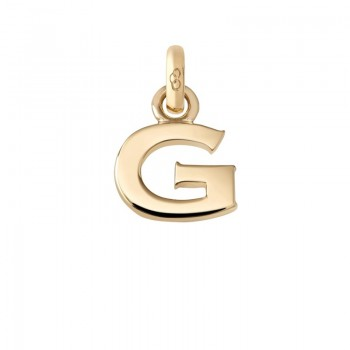 Links Of London 18kt Yellow Gold G Charm