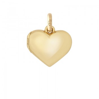 Links Of London 18kt Yellow Gold Heart Locket Charm
