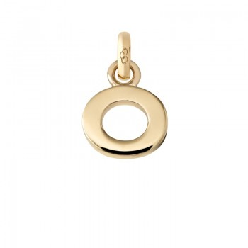 Links Of London 18kt Yellow Gold O Charm