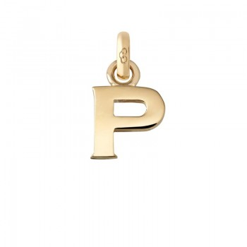 Links Of London 18kt Yellow Gold P Charm