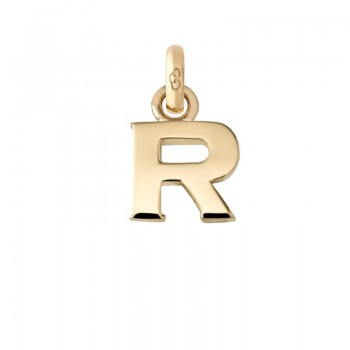 Links Of London 18kt Yellow Gold R Charm