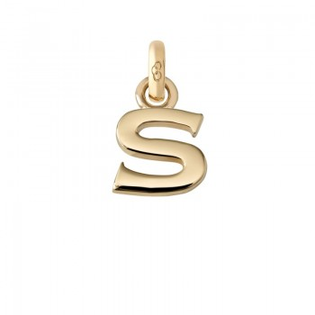 Links Of London 18kt Yellow Gold S Charm
