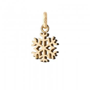 Links Of London 18kt Yellow Gold Snowflake Charm