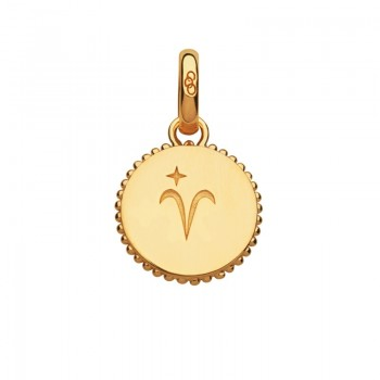 Links Of London 18kt Yellow Gold Vermeil Aries Zodiac Charm