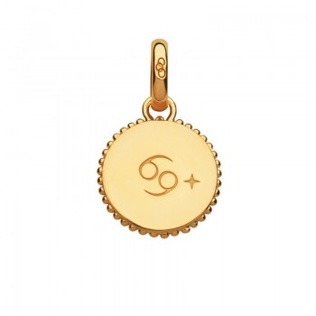 Links Of London 18kt Yellow Gold Vermeil Cancer Zodiac Charm