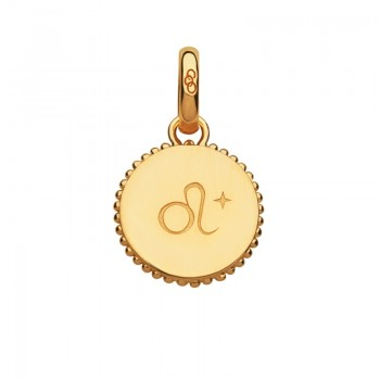 Links Of London 18kt Yellow Gold Vermeil Leo Zodiac Charm