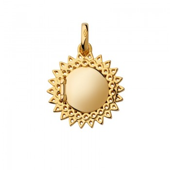 Links Of London 18kt Yellow Gold Vermeil Mother's Day Sun Locket Pendant