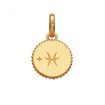 Links Of London 18kt Yellow Gold Vermeil Pisces Zodiac Charm
