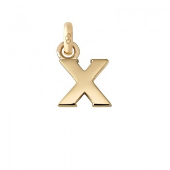 Links Of London 18kt Yellow Gold X Charm