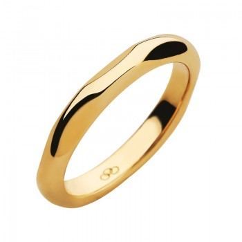 Links Of London 20/20 18kt Yellow Gold Band Ring