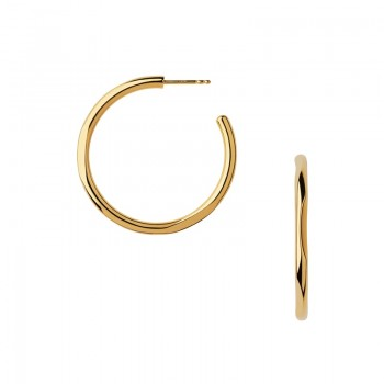 Links Of London 20/20 18kt Yellow Gold Hoop Earrings
