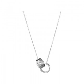Links Of London 20/20 Sterling Silver Interlocking Necklace