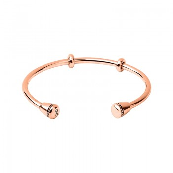 Links Of London Amulet 18kt Rose Gold Vermeil Charm Cuff
