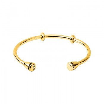 Links Of London Amulet 18kt Yellow Gold Vermeil Charm Cuff