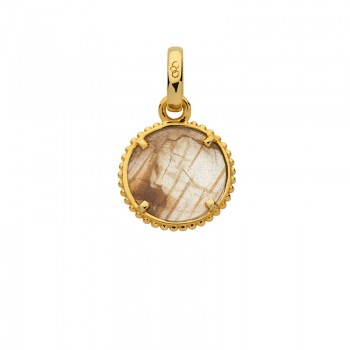 Links Of London Amulet 18kt Yellow Gold Vermeil Self Discovery Charm