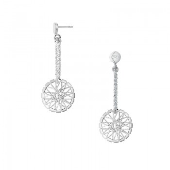 Links Of London Dream Catcher Sterling Silver Drop Earrings