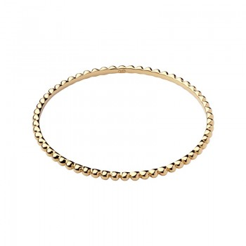 Links Of London Effervescence 18kt Yellow Gold Vermeil Bangle