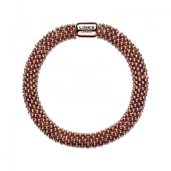 Links Of London Effervescence Star 18kt Rose Gold Vermeil Bracelet