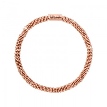 Links Of London Effervescence Star XS 18kt Rose Gold Vermeil Bracelet