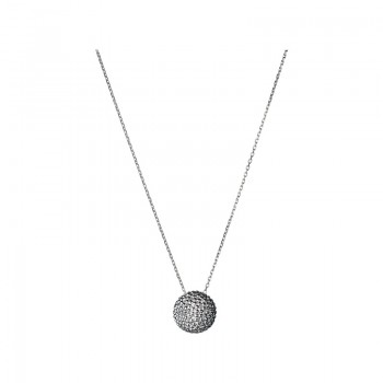 Links Of London Effervescence Sterling Silver Big Bubble Necklace