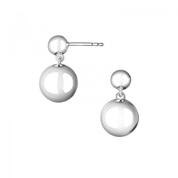 Links Of London Effervescence Sterling Silver Drop Earrings